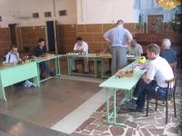 В Унях прошел сеанс одновременной игры в шахматы(ФОТО)