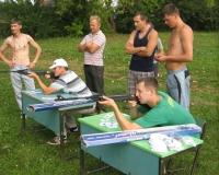 В Унях отметили День физкультурника (ФОТО)