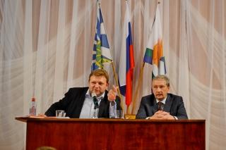 Встреча Никиты Белых с жителями Унинского района (ВИДЕО)
