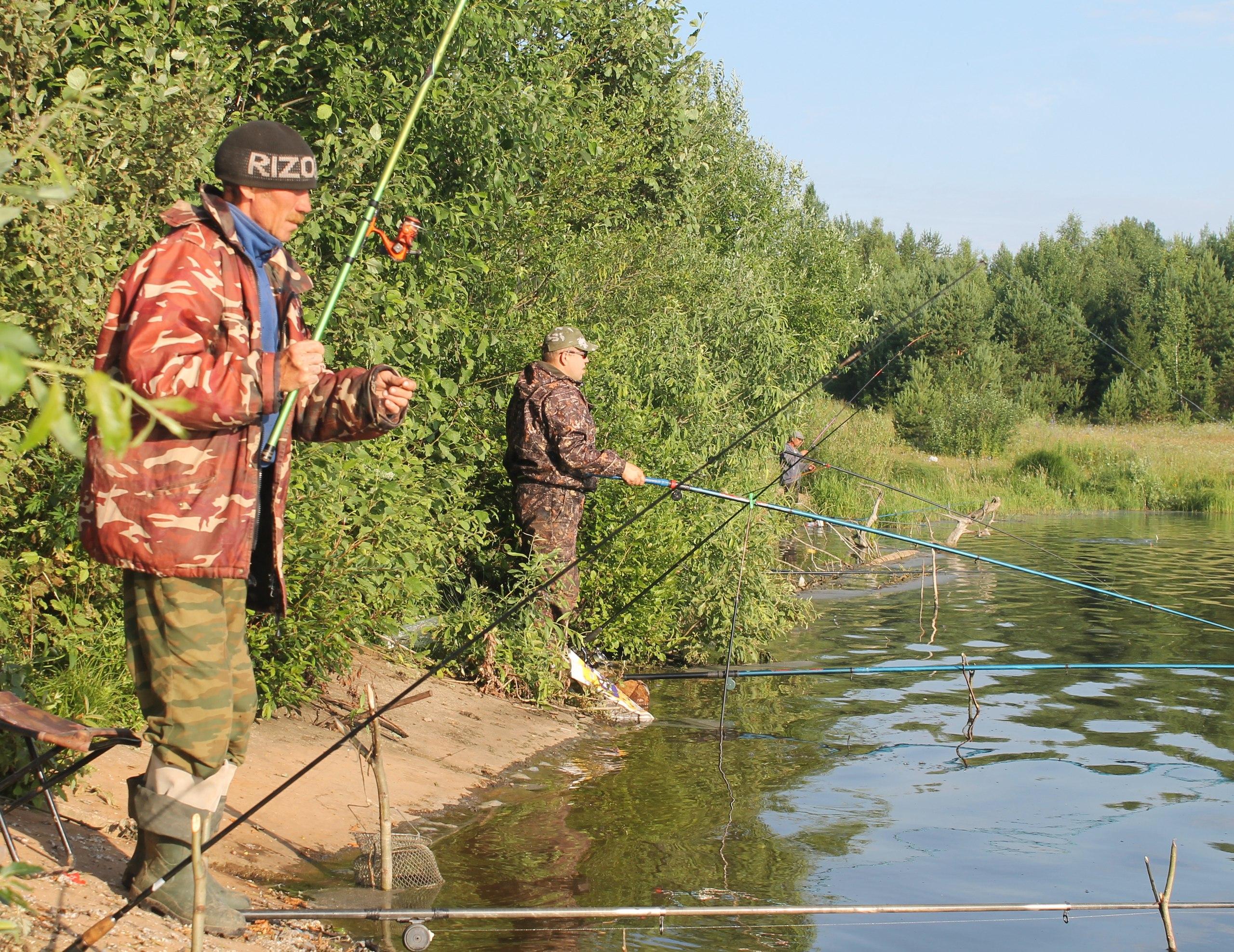 рыбалка на озерах в кировской обл
