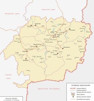 карта Уни